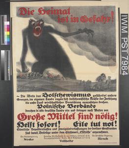 Die Heimat ist in Gefahr! [Your Country is in Danger!]