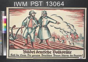 Bildet Deutsche Volksräte [Form German People's Councils]