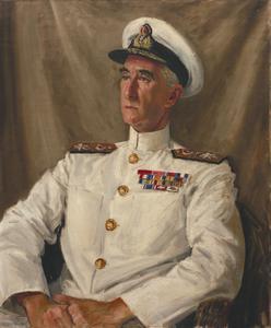 Rear-Admiral C E Douglas-Pennant, CB, CBE, DSO, DSC