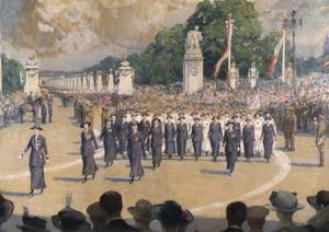 The Peace Procession, 19 July 1919 (The VADS)