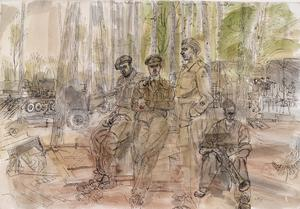 The 50th (Northumbrian) Division, 1944: 69 Infantry Brigade Workshops, REME