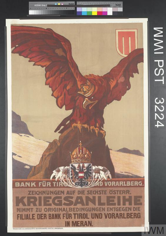 Zeichnungen auf die Sechste Österreichische Kriegsanleihe [Subscribe to the Sixth Austrian War Loan]