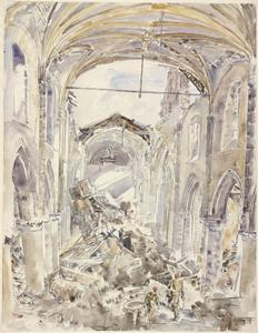 Interior of l'Eglise de Notre Dame, Calais