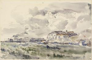 Dover Harbour : October 1944