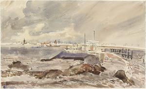 Wolfaarsdijk, Kortgene Ferry, Zeeland: 20th January 1945
