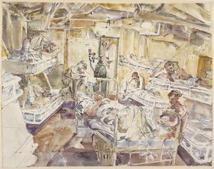 HMS Hunter: The Sick Bay