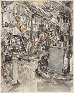 HMS Hunter: The Engine Room