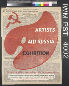 Artists Aid Russia Exhibition