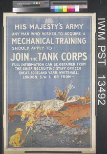 Join the Tank Corps