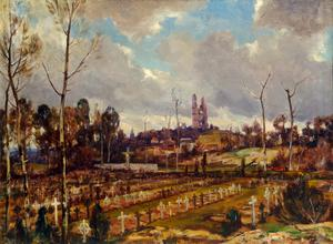 The Cemetery At Mont St Eloi