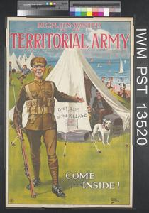 Recruits Wanted for the Territorial Army