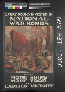 Every Pound Invested in National War Bonds