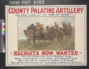 County Palatine Artillery