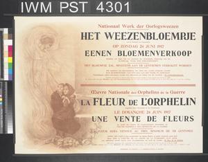 Het Weezenbloempje - La Fleur de l'Orphelin [The Little Orphan's Flower]