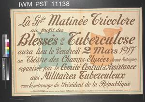 La Grande Matinée Tricolore [The Great Tricolore Matinée]
