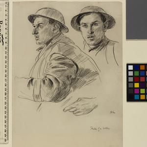 Studies Of A Soldier