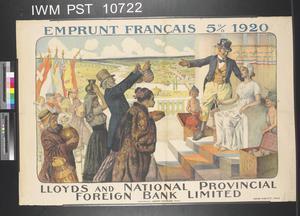 Emprunt Français Cinq pour cent 1920 [Five Percent French Loan 1920]