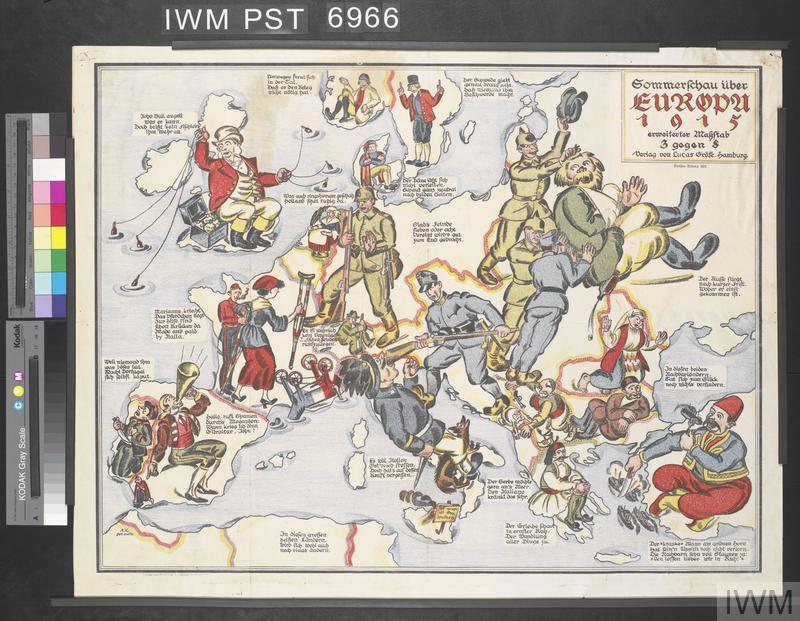 Sommerschau über Europa 1915 [Summer Show over Europe 1915]