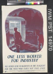 One Less Worker for Industry