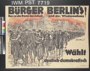 Bürger Berlins! [Citizens of Berlin!]