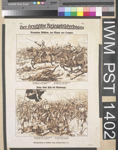 Der Deutsche Kriegsbilderbogen [The German War Illustrated Sheet]