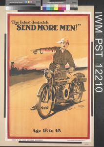 The Latest Despatch - Send More Men