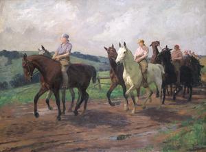 The Ladies' Army Remount Depôt, Russley Park, Wiltshire, 1918