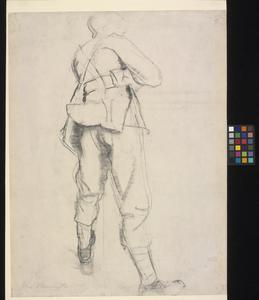 Standing Soldier - study for 'The Kensingtons at Laventie'