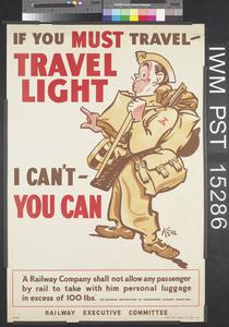 If You Must Travel - Travel Light