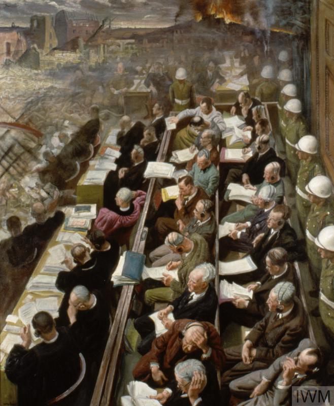The Nuremberg Trial, 1946