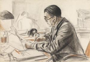 Mr G D Roberts, OBE, KC, Nuremberg, 1946