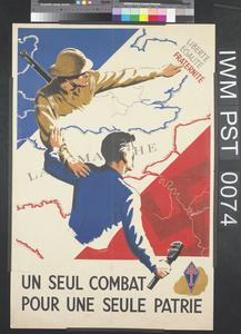Un Seul Combat pour une Seule Patrie [A Single Battle for a Single Country]