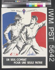 Un Seul Combat pour une Seule Patrie [A Single Battle for a Single Country]