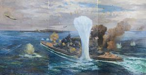 The Sinking of HMS Prince of Wales, 10 December 1941, off Kuantan, South China Sea