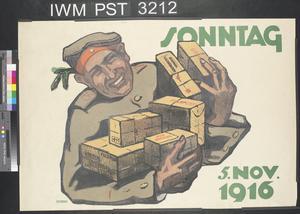 Sonntag Fünf November 1916 [Sunday 5 November 1916]