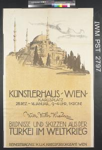 Bildnisse und Skizzen aus der Türkei im Weltkrieg [Portraits and Sketches from Turkey in the World War]