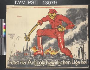 Tretet der Antibolschewistischen Liga bei [Join the Anti-Bolshevist League]