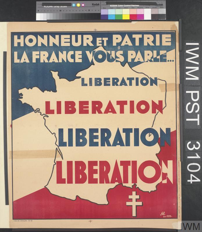 Honneur et Patrie la France Vous Parle [Honour and Country, France Speaks to You]