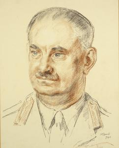 Major-General W. Green, CB, DSO and two Bars, Commander, South-Western Area, 1940