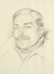 Squadron Leader C Campbell-Voullaire, DFC