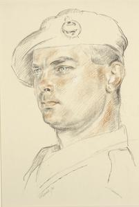 Corporal W J Courtney : 40 Battalion, RTR