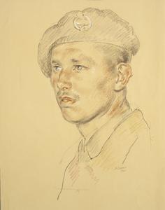 Lieutenant E White : 40 Battalion, RTR