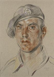 Trooper J Doughton : 40 Battalion, RTR