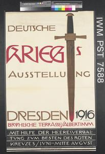 Deutsche Kriegs Ausstellung - Dresden 1916 [German War Exhibition Dresden 1916]