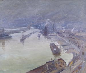 Richborough In Fog, 1917