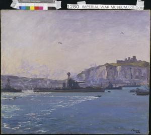 Monitors, Dover Harbour, 1918