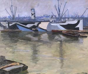 The Appam, London Docks