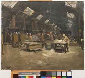 The Bakeries, Dieppe, 1919