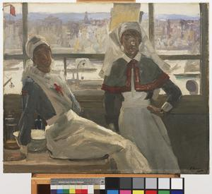 Le Havre, 1919 : Nurse Billam and Sister Currier
