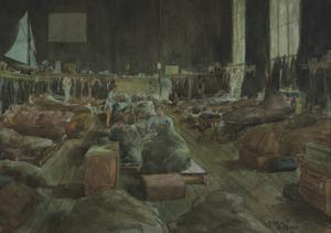 Early Morning, Sleeping in Section 'C', 1915